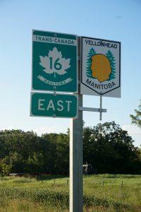 """Eigentlich das perfekte Bild zum Thema. """"16"""" steht für """"2016"""" und """"Trans-Canada"""" für """"Crossing Canada"""""""