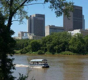 Red River. Winnipeg, Manitoba