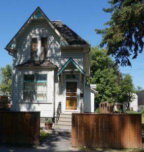 Typisches Einfamilienhaus. Winnipeg, Manitoba