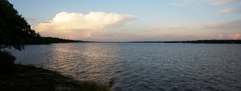 Abendstimmung. Falcon Lake, Manitoba