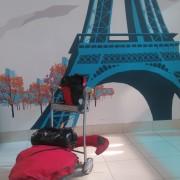 Gepäck gut angekommen, Paris