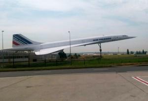 Concorde am Flughafen Paris
