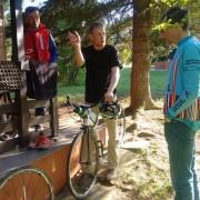 Übergabe Kickbike Race Max 28