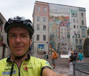 Quebec-City, Quebec. Altstadt, wenige Minuten vor dem Ziel aller Ziele