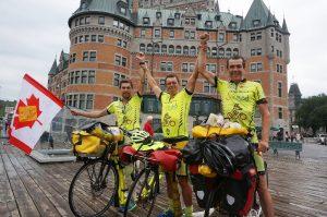 Quebec-City, Quebec. Diese Bild ging um die Welt und wurde binnen weniger Stunden 20mal geteilt