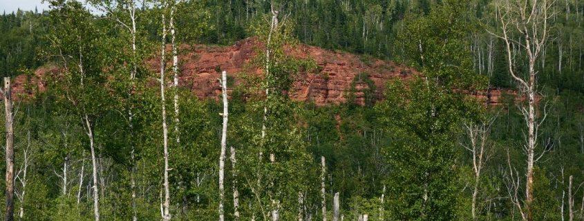 Red Rock, 15 km vor Nipigo, Ontario