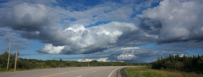 westlich von White River, Ontario