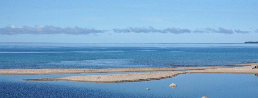 Lake Superior und Mündung Sand River, Ontario