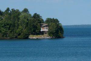 Lake Superior, Ontario. Immer wieder sehr schön gelegene Häuser...