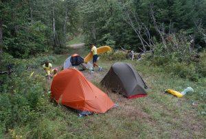 Wild Campen nach Espanola, Ontario