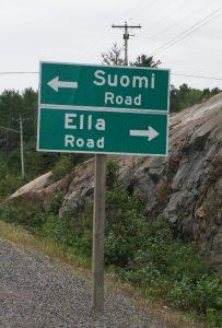 Gewidet meinen Finnischen Freunden Hannu und Alpo! Zwischen Nairn und Sudbury, Ontario