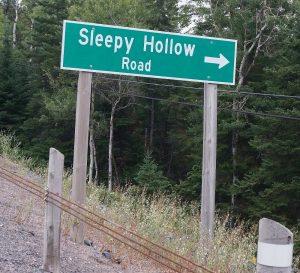"""Na, dann """"Gute Nacht"""", Zwischen Nairn und Sudbury, Ontario"""