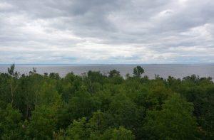 Blick auf den Lake Nipissing, Ontario