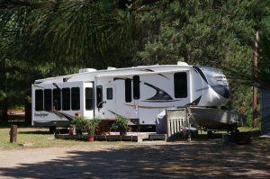 Campingplatz bei Deux-Rivières, Ontario