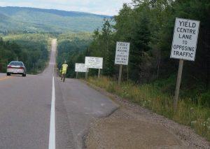 letzte Kilometer nach Stonecliff, Ontario