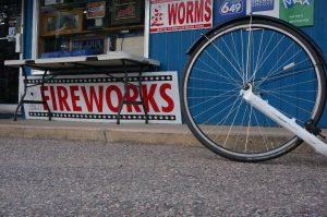 Stonecliff, Ontario. Und wieder gibt es Feuerwerk