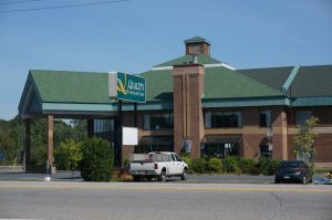 "unsere Bleibe: ""Quality Inn"", Hawkesbury, Ontario"