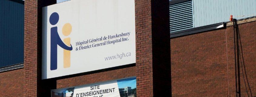 Hôpital Général de Hawkesbury (HGH), Hawkesbury, Ontario