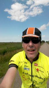 Selfie bei ca. 200km
