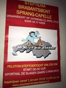 """Plakat vom """"Monster 2018"""" (c) René de Jong"""
